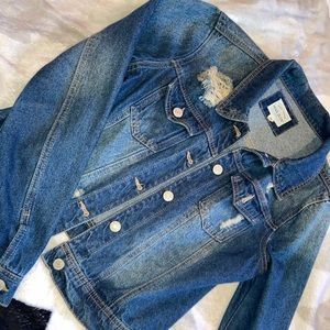 Jean jacket//EVERYTHING $9 SALE